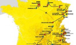 Le Tour de France 2019, toutes les étapes