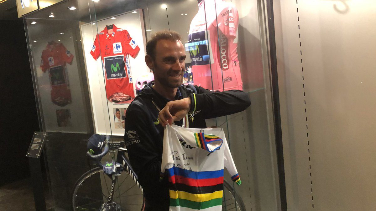 Alejandro Valverde; «Jusqu'aux Jeux olympiques de Tokyo en 2020»
