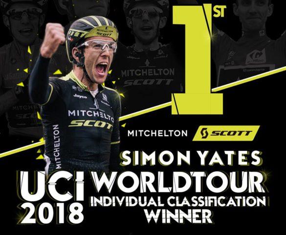 Simon Yates meilleur coureur 2018, Quick Step meilleure équipe