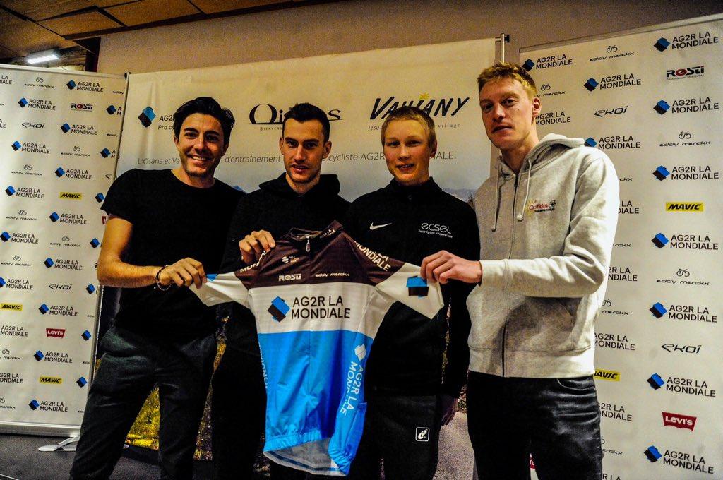 Jaakko Hänninen rejoint AG2R La Mondiale en 2019