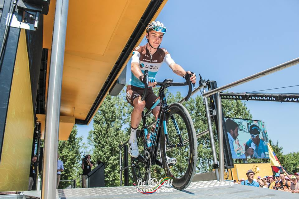 Romain Bardet; «Je suis favorable à tout ce qui bouleverse le Tour de France»