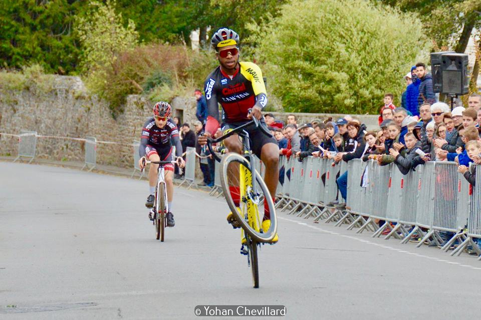 Trophée régional de Bretagne; Mickaël Crispin continue sa moisson