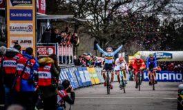 Coupe du monde à Pontchâteau; Thibau Nys au sprint!