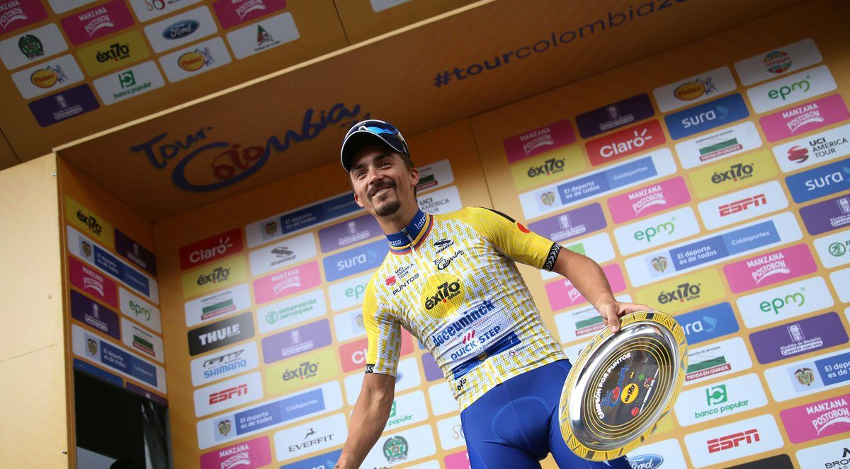 Julian Alaphilippe; « Une semaine incroyable »