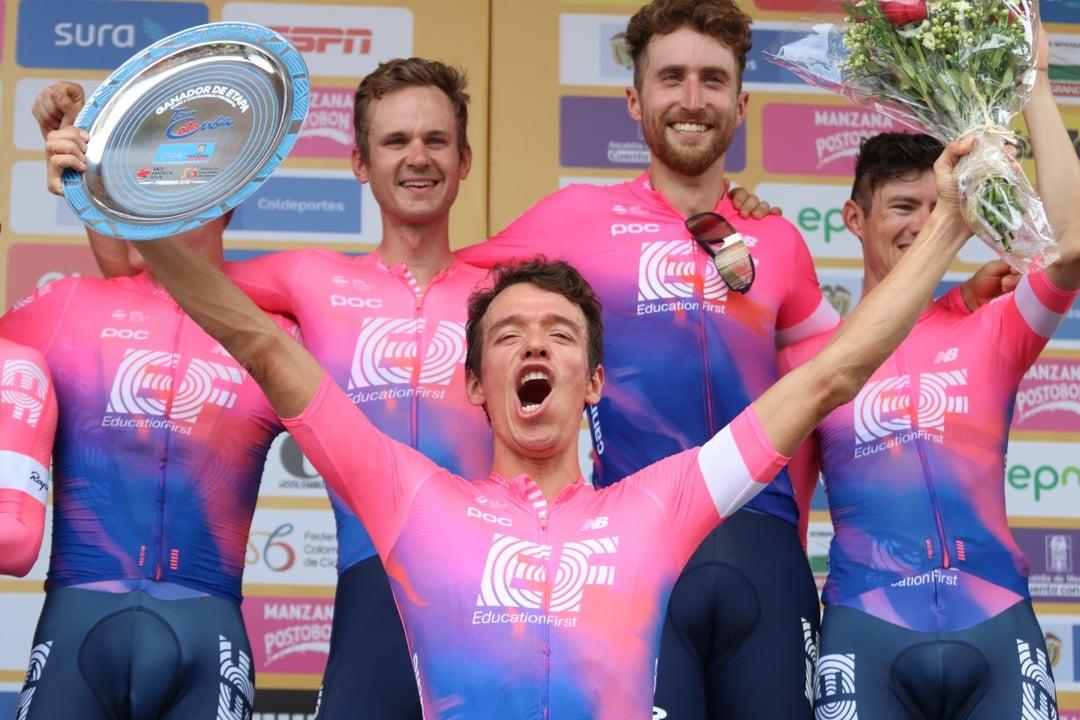 Rigoberto Uran; «C'est comme gagner sur un tour de France. J'ai gagné chez moi avec tout mon peuple»