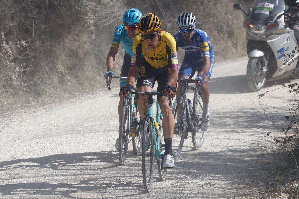 Wout van Aert; «Mon équipe ne réalise que trop bien que le cyclo-cross n'est pas une mauvaise préparation»