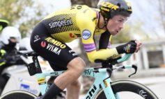 """Primoz Roglic remporte Tirreno Adriatico pour une seconde; """"J'ai eu de la chance dans le final"""""""