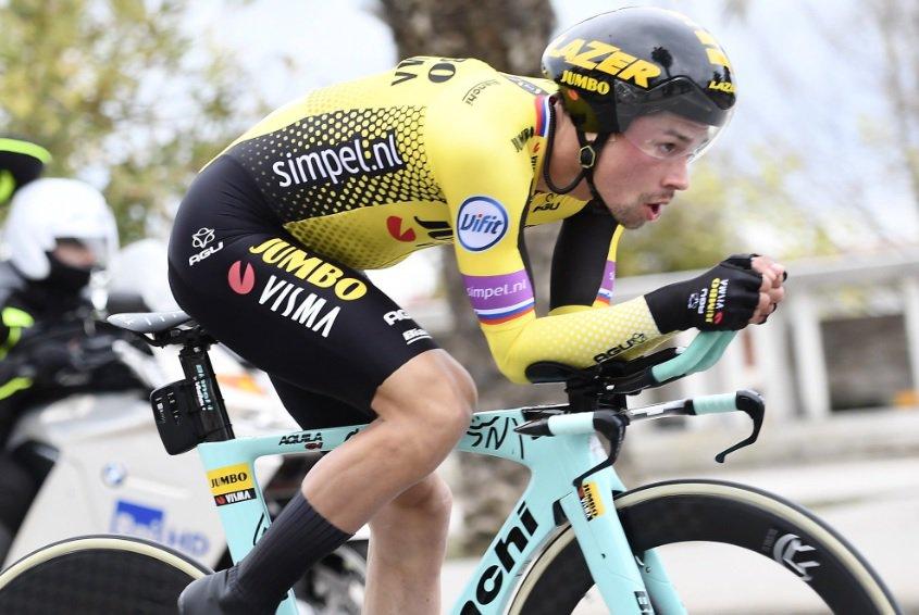 Primoz Roglic remporte Tirreno Adriatico pour une seconde; «J'ai eu de la chance dans le final»
