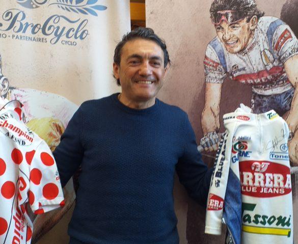 "Claudio Chiappucci; ""Celui qui m'a inspiré? Bernard Hinault!"""