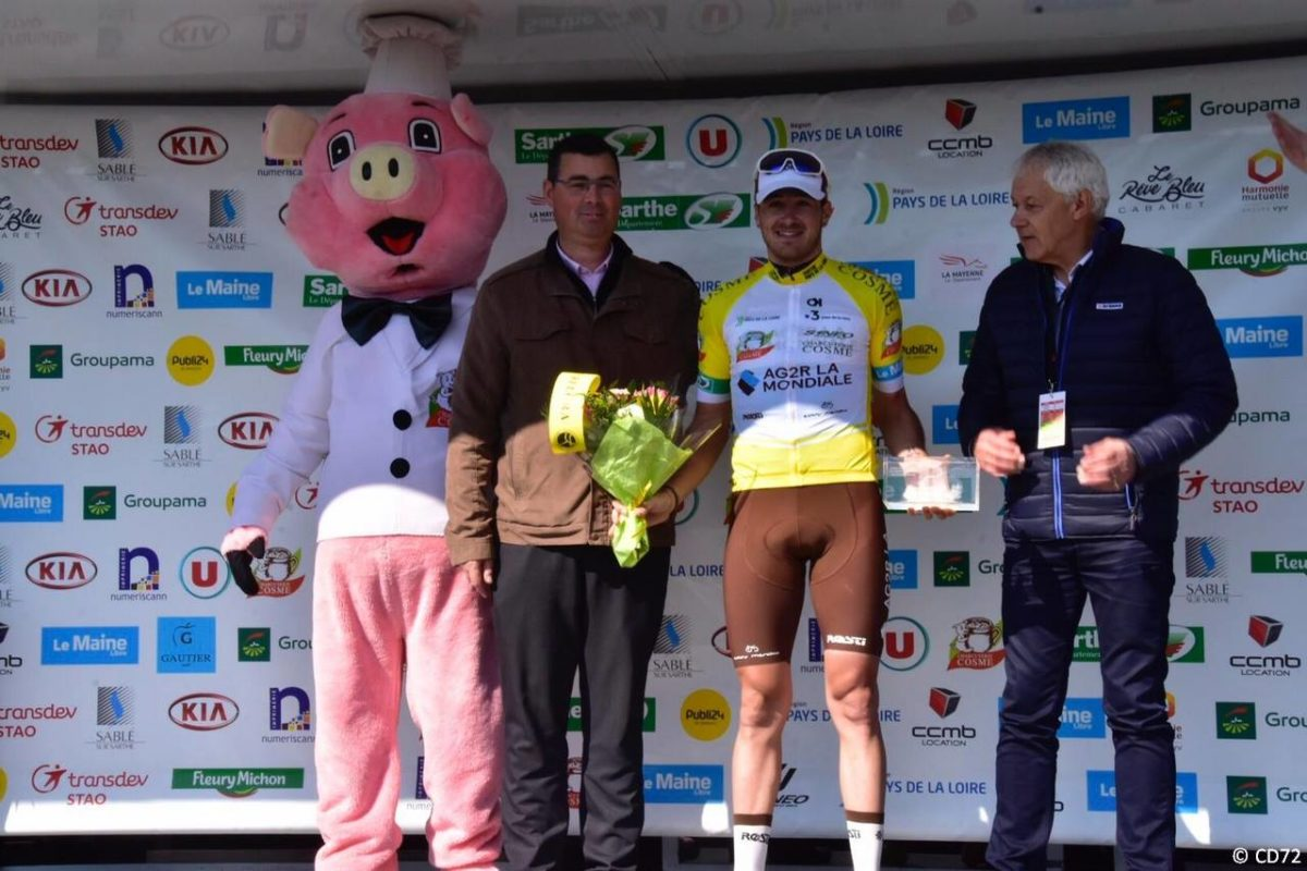 Circuit de la Sarthe; La der pour Andrea Vendrame, le général pour Alexis Gougeard