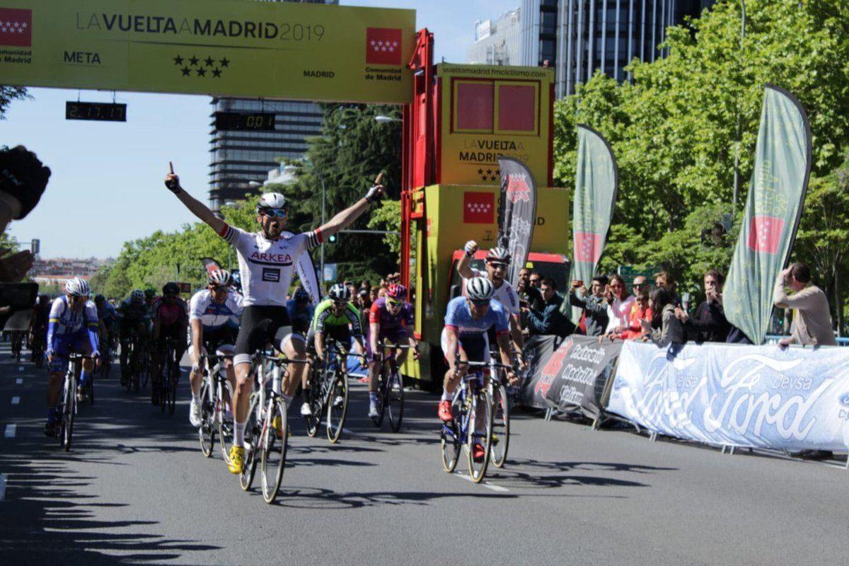 Tour de Madrid; Doublé du team Arkea Samsic, l'étape pour Maxime Daniel, le général pour Clément Russo