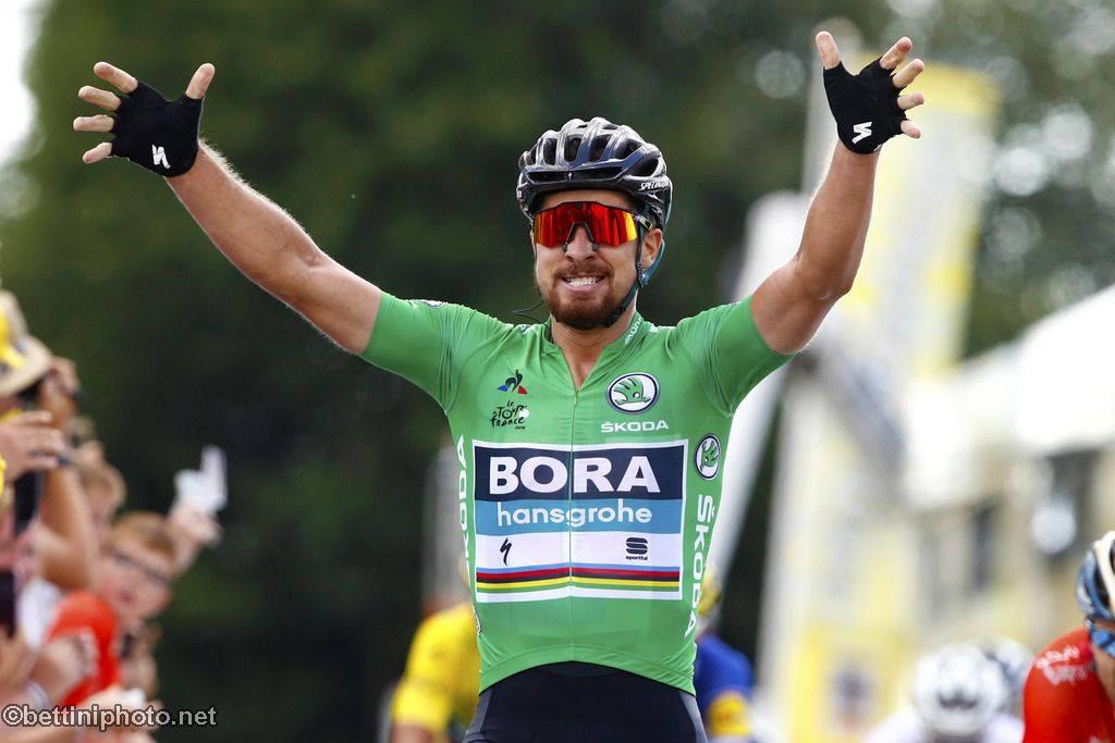 Peter Sagan; «J'aimerais ramener un 7ème maillot vert sur le tour de France»