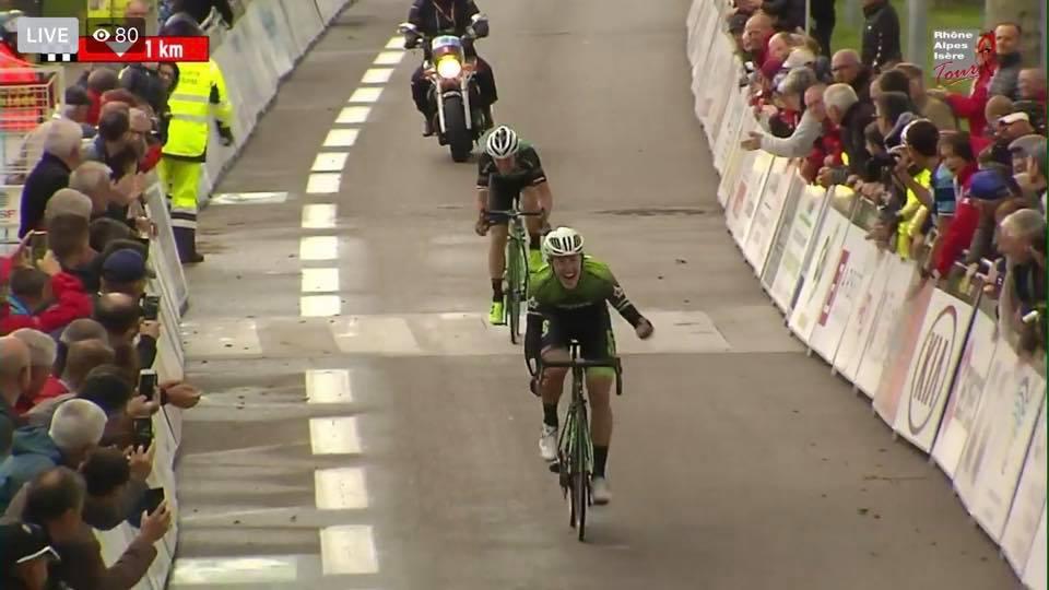 Rhône Alpes Isère Tour; Harry Sweeny ( EvoPro Racing) en costaud