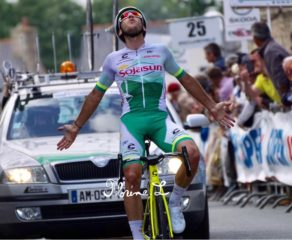 Stylianos Farantakis en costaud sur l'Exclusivelo Tour de Lanvallay