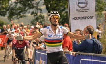 Route d'Occitanie : Alejandro Valverde devance Eddie Dunbar et Elie Gesbert