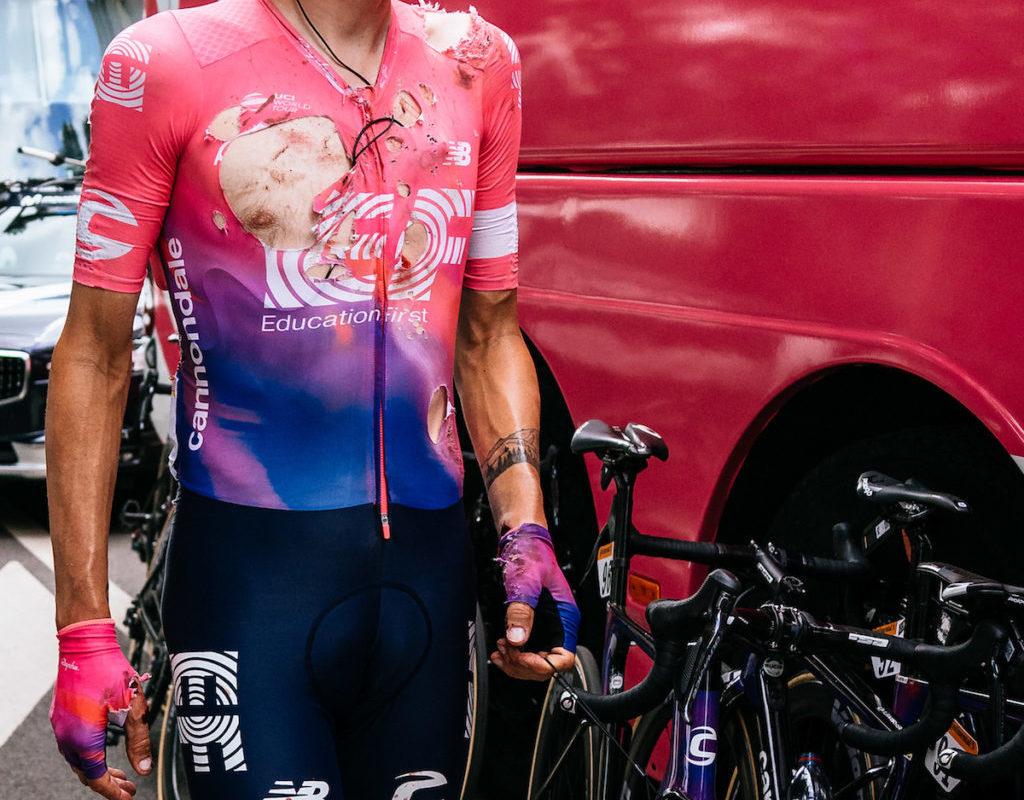Main cassée, Tejay Van Garderen abandonne le tour de France