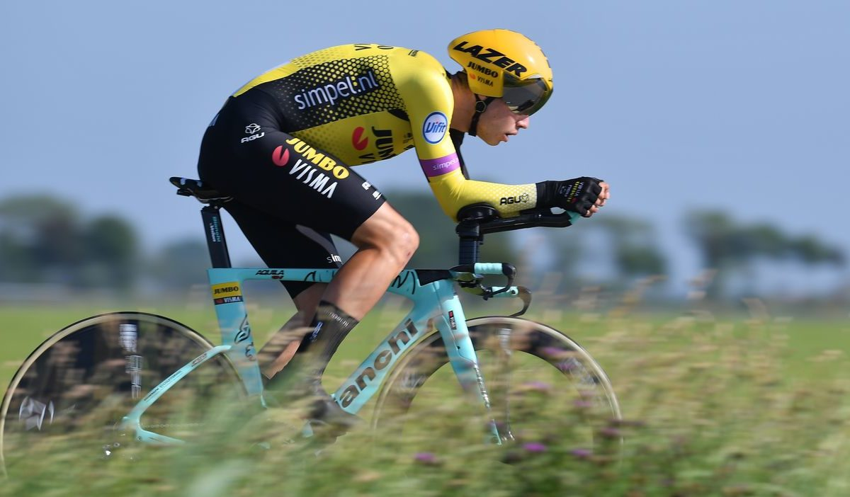 Le terrible accident de Wout van Aert