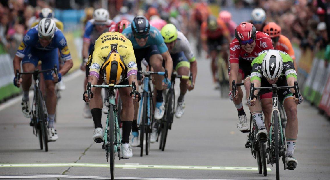 Sam Bennett : «Je suis content de pouvoir rendre mes compatriotes fiers dans mon maillot de champion d'Irlande»