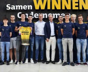 Jumbo-Visma présente son team development avec 13 jeunes coureurs