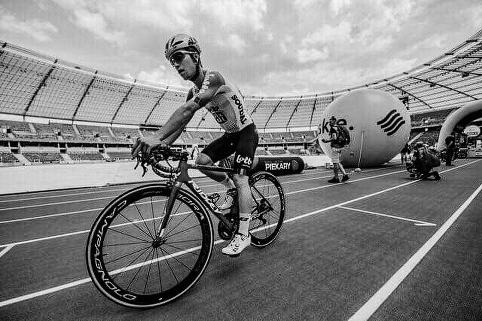 La 4ème étape du Tour de Pologne neutralisée en hommage à Bjorg Lambrecht