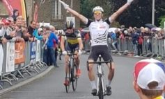 Ronde des Vallées (juniors) ; Axel Laurance en costaud