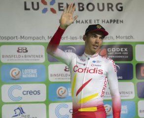 """Christophe Laporte ; """"Heureux de travailler pour Viviani sur les grands Tours mais toute l'année, je ne pense pas"""""""