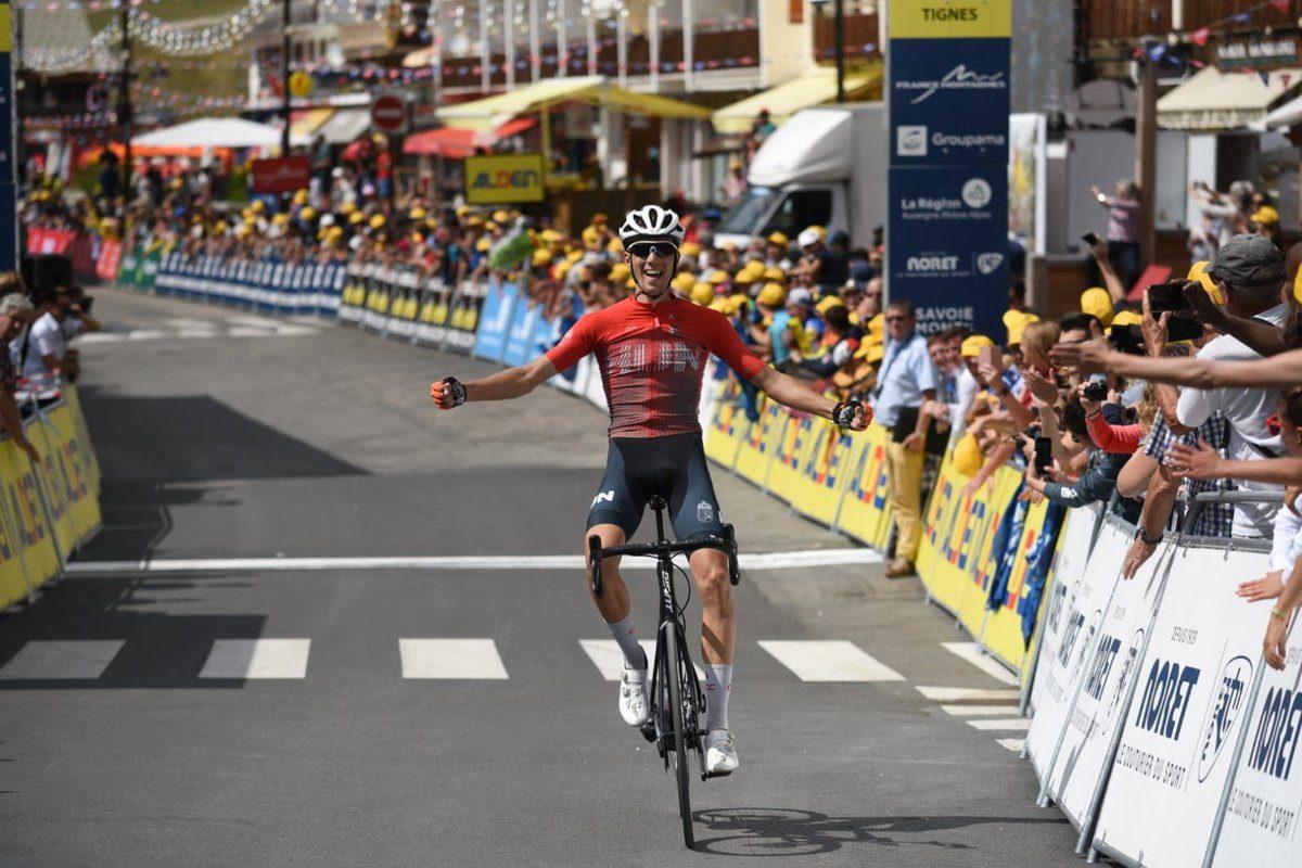Tour de l'Avenir : Victoire finale du Norvégien Tobias Foss
