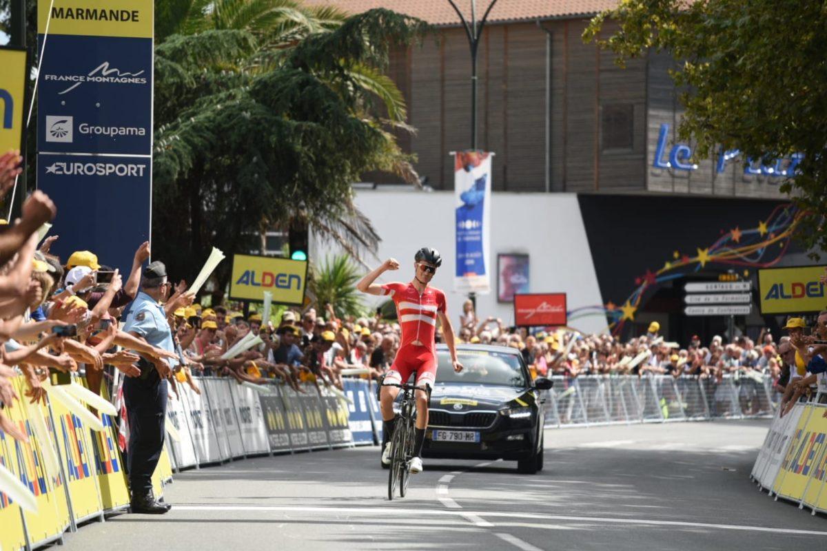 Tour de l'Avenir : Mathias Norsgaard Jorgensen au terme d'un beau numéro