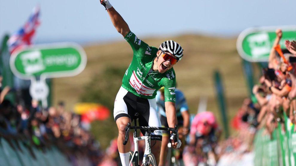 Mathieu van der Poel frappe de nouveau sur le Tour of Britain