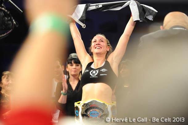 Cindy Perros peut savourer son titre de championne d'Europe