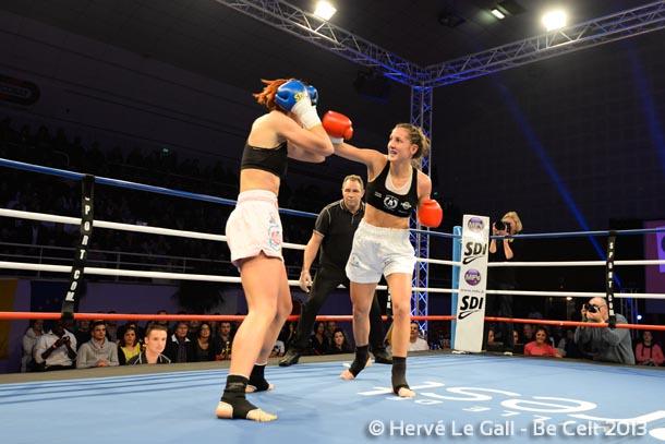 Cindy Perros a dominé l'Allemande de bout en bout