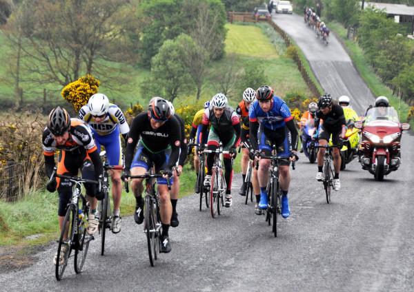 L echappée de la journée photo Marian Lamb Cycling Ulster