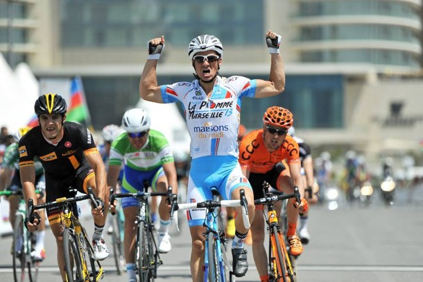 Justin Jules renoue avec la gagne sur le Tour d'Azerbaidjan (photo Mario Stiehl)