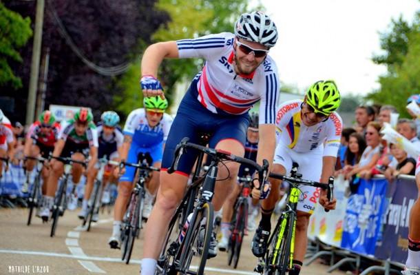 Dan Mclay remporte la 3ème étape (photo Mathilde L'Azou)
