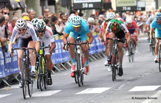 3 victoires au sprint cette saison en France, sur le Tour de Normandie, Paris Arras et sur le Tour de l'Avenir (photo Alexanne Bonnier)