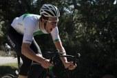 Tour de Normandie; L'étape Pour Jan-Willem Van Schip devant Damien Gaudin