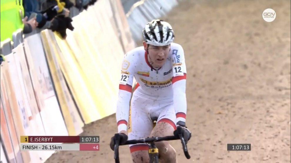 Cyclo-Cross - Coupe du monde : Eli Iserbyt s'impose à Nommay