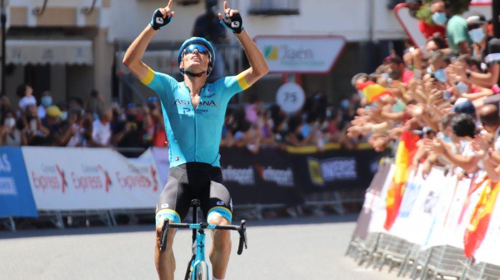 Luis Léon Sanchez champion d'Espagne — Espagne